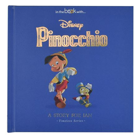 Picture of Personalised Disney Pinocchio Story Book