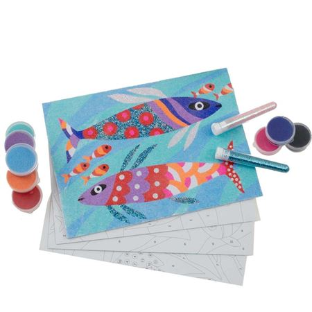 Picture of Rainbow Fish Sand Art