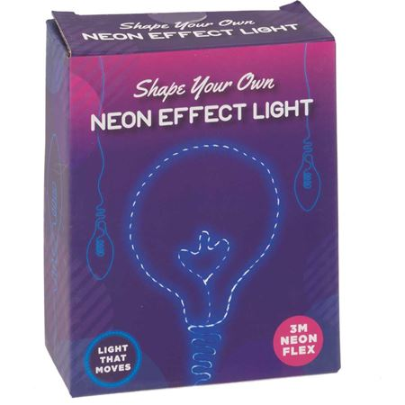 Picture of Shape Your Own Neon Effect Light - Blue
