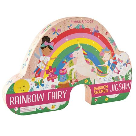 Picture of Rainbow-Shaped Fairy Puzzle