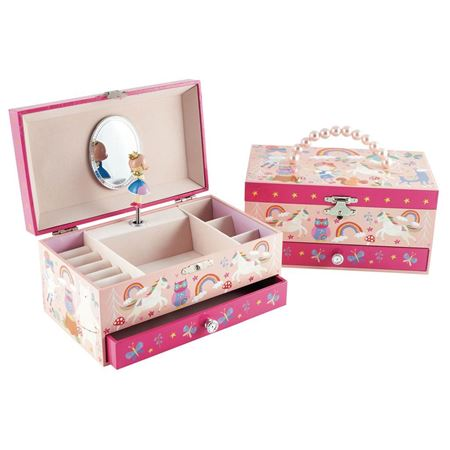 Picture of Rainbow Fairy Musical  Jewellery Box