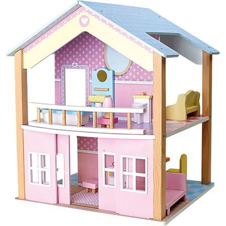 Picture of Dolls House Blue Roof