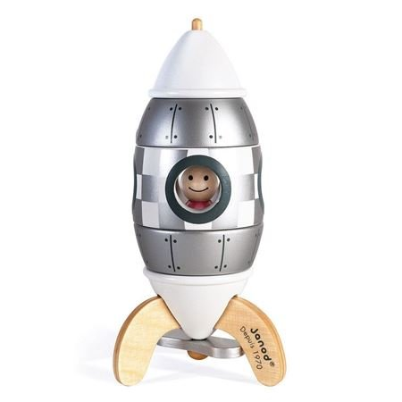 Picture of Silver Magnetic Rocket