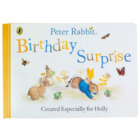 Picture of Personalised Peter Rabbit 'Birthday Surprise'