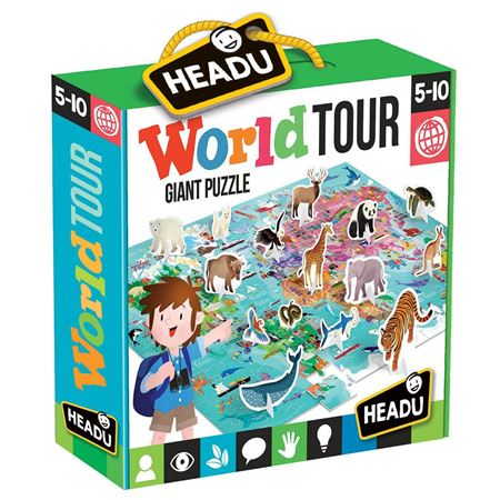 Picture of World Tour Giant Puzzle