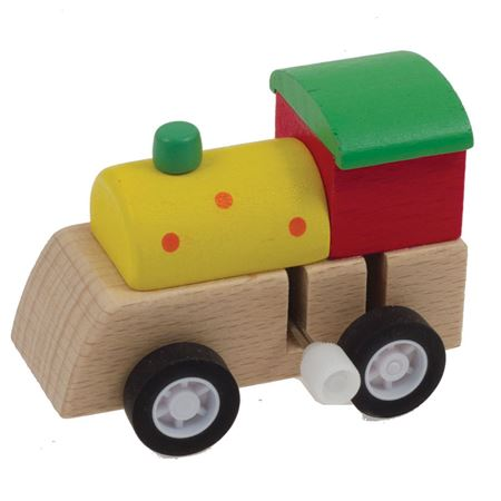 Picture of Wooden Clockwork Train
