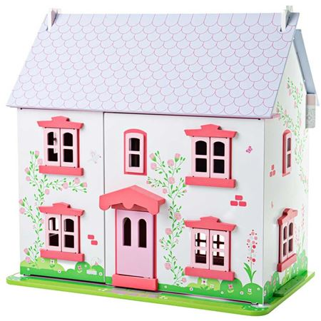 Picture of Rose Cottage Dolls House Set